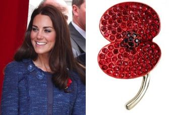 The Duchess of Cambridge  39 s latest brooch