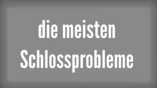 http://www.bks-schluesseldienst-aachen.de - Für jedes Schlüssel- oder Schlossprobleme haben wir Festpreise! Keine versteckte Kosten. Zu unseren Leistungen gehören die zerstörungsfreie Türöffnungen, der Schlosswechsel und die Montage von neuen und Reparatur von defekten Schliessungen. Schlüsseldienst und Notdienst rund um die Uhr.  http://www.youtube.com/watch?v=qmm8Hw5wCw0