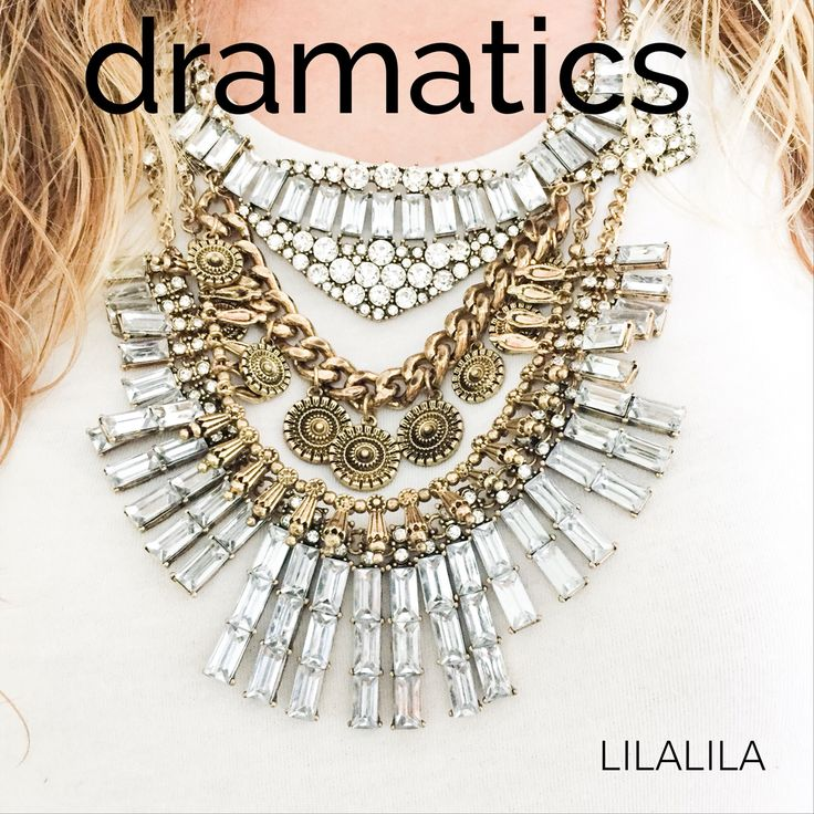 Dramatics by LILALILA statement jewelry