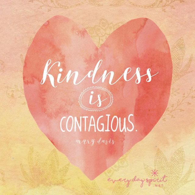 Change the world. Get the app of beautiful wallpapers at ~ www.everydayspirit.net xo #kindness #hearts