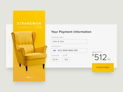 Daily UI - 002 : Card Checkout