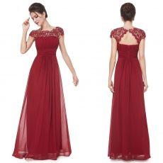 Вечернее платье цвет марсала от Ever pretty