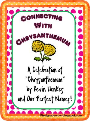 bullying and being bullied in chrysanthemum a book by kevin henkes Who doesn't love the kevin henkes book, chrysanthemumthe adorable story is perfect for the first day or week of school, counting letters in our name or pockets discussing how we feel and how to be find this pin and more on school stuff by siobhan rynne.
