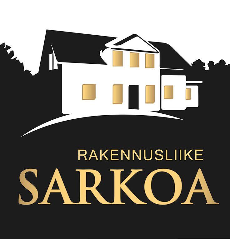 www.ninavirtanen.fi  Logon suunnittelu. Sarkoa Ky on Seinäjoella sijaitseva rakennusalan yritys.  www.sarkoa.fi #graafinensuunnittelu #graphicdesign #logosuunnittelu #logodesign
