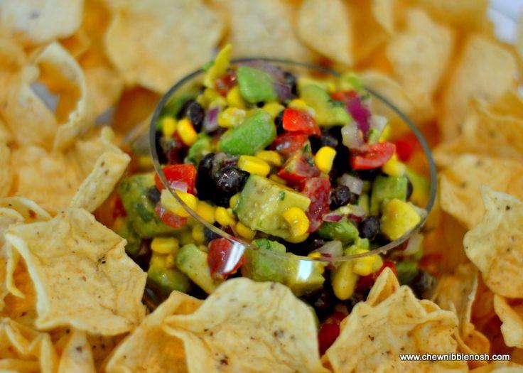Black Bean, Corn and Avocado Salsa | Recipe