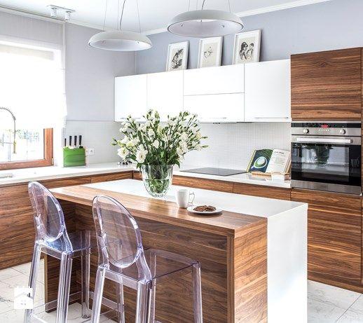 Dom parterowy - Kuchnia, styl nowoczesny - zdjęcie od na-antresoli