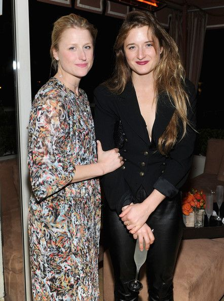 Mamie Gummer and Grace Gummer - GREY GOOSE Pre-Oscar Party At Sunset Tower