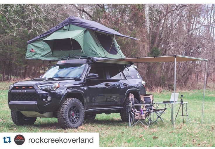 4Runner camping