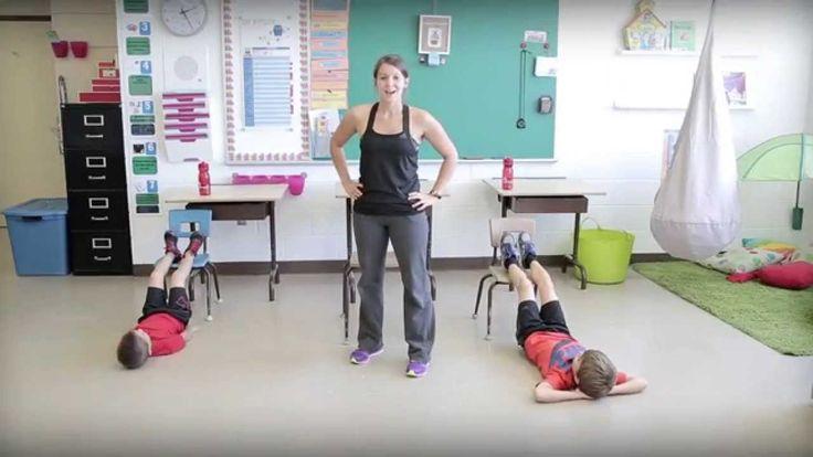 Bouge en classe avec Jeunes en santé #14