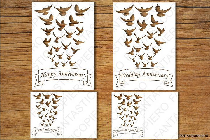 Pin On Anniversary Card Cricut Free