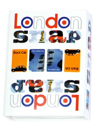 Snap - London. A perfect present for young children. Interesting things to look at, word association that helps their learning AND adults can play Snap with them and explain all the famous landmarks of London!  A great way to keep the kids happy and engaged while taking time away from electronic devices.
