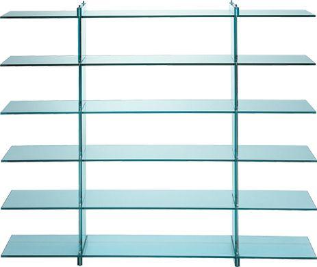 Teso bookshelf - Renzo Piano - Fontana Arte