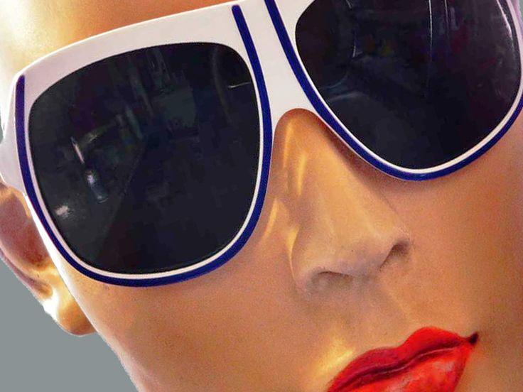 Originele vintage 1970 CÉBÉ sport/ski/zonnebril rood wit blauw made in France door TresbeLLL op Etsy