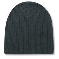 "Acrylic Knit 8"" Beanie | Knit Beanies : Custom, Blank and Wholesale Beanies $20.76 - $22.32, BLACK, GREY, NAVY"