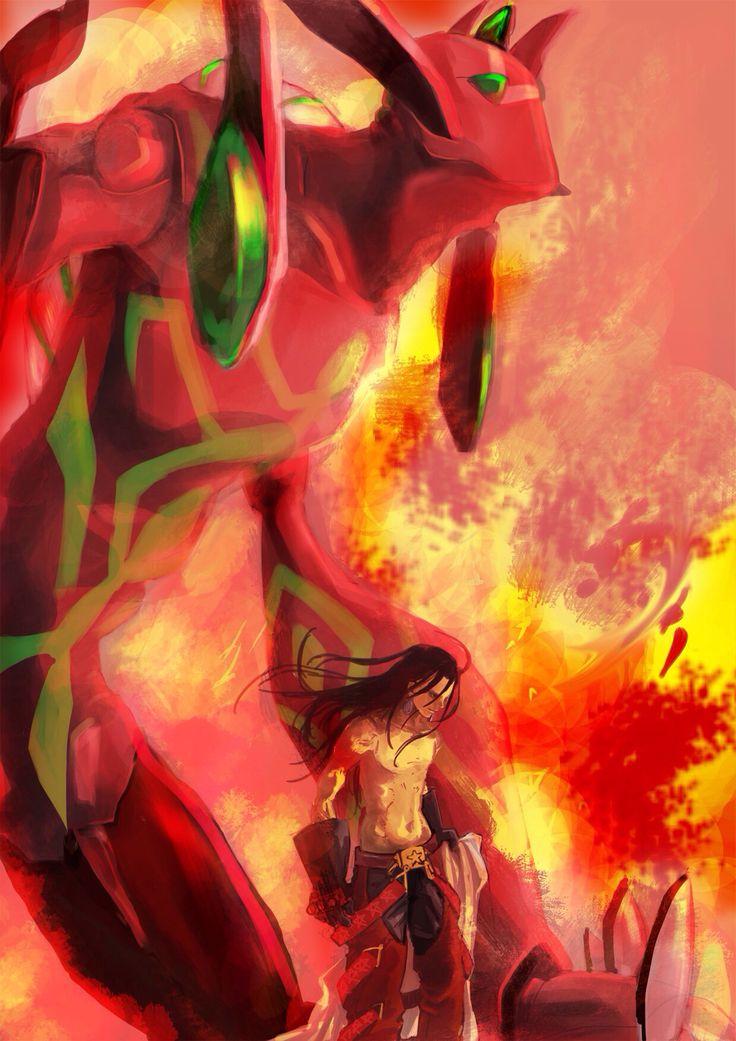 Anime - Shaman King - Hao Asakura