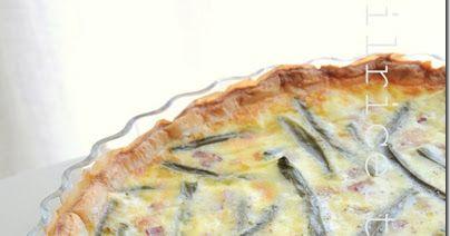 ilricettariodicinzia: quiche ai fagiolini e/o pancetta