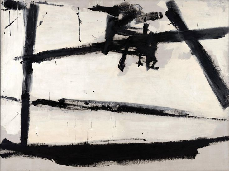 """abstractrealism: """"No. 2 1954 Franz Kline Thank you, Ted """""""