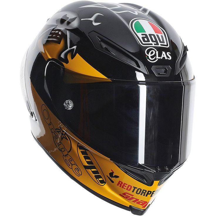 New AGV Guy Martin Corsa Street Motorcycle Helmet 2016 - Motorhelmets