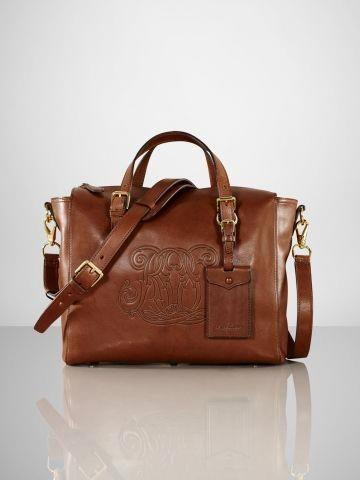 2b6227dfba6a Embossed RL Cross-Body Bag - Ralph Lauren Ralph Lauren Handbags -  RalphLauren.com