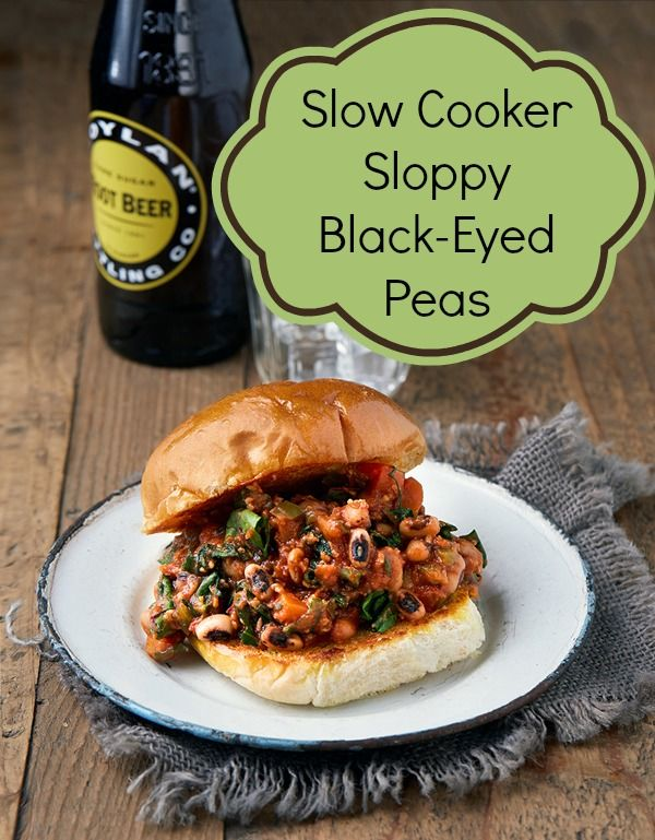 Sloppy Black-Eyed Peas from Vegan Slow Cooking for Two (Photo by Kate Lewis)