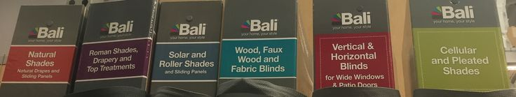@baliblinds Sample books for custom blinds and shades are always in store at these locations: