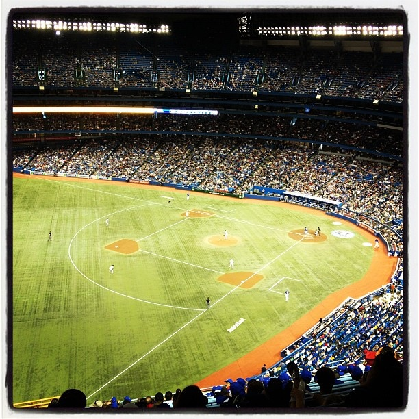 """""""Number One"""" by Pharrell & Kanye West reminds me of this moment I had in Rogers Centre posted via @instatuneapp #musicmoment #instatuneapp #moment #hiphoprap #pharrellkanyewest"""