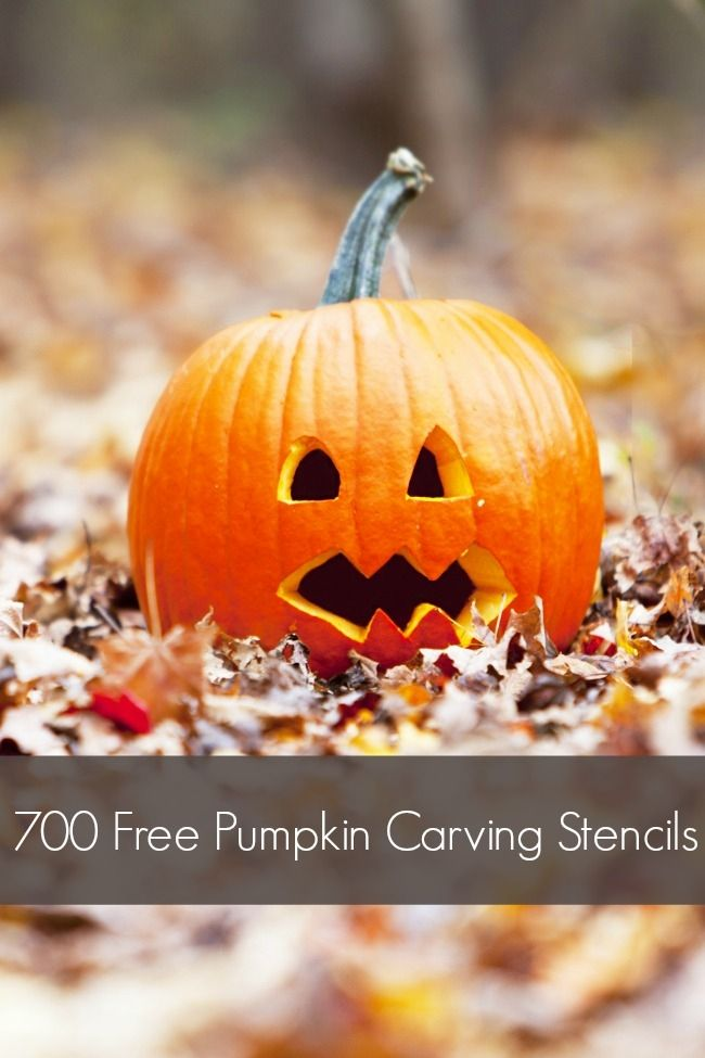 Over 700 Free Pumpkin Carving Stencils - Spaceships and Laser Beams