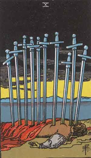 Which tarot cards indicate mental burnout? Theresa Reed, The Tarot Lady, discusses them in this post.