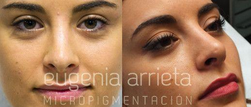 Micropigmentación de Cejas realizada por Eugenia Arrieta.
