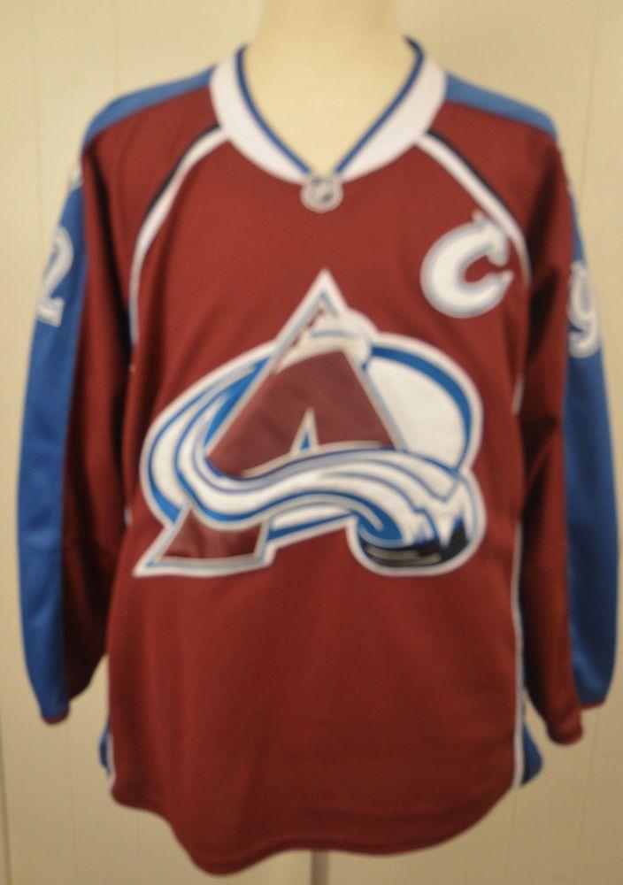 separation shoes 761ba e77a5 Reebok Colorado Avalanche #92 Gabriel Landeskog NHL Jersey ...