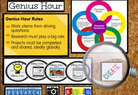 Embrace change in your classroom. Implement the Genius Hour with students. Watch the video.