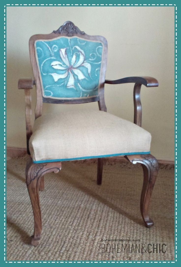 Cómo hacer tu propia tela para tapizar/How to make your own fabric to upholster