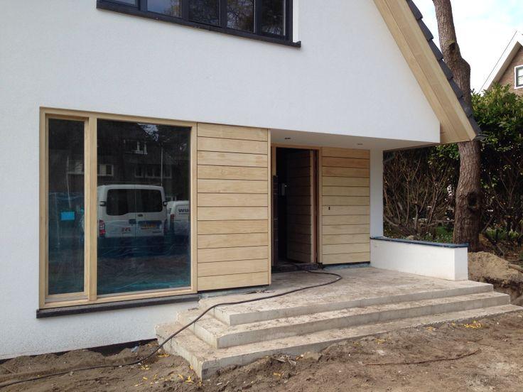 Accoya kozijnen en gevelbekleding if we built a house for Bausatzhaus holz