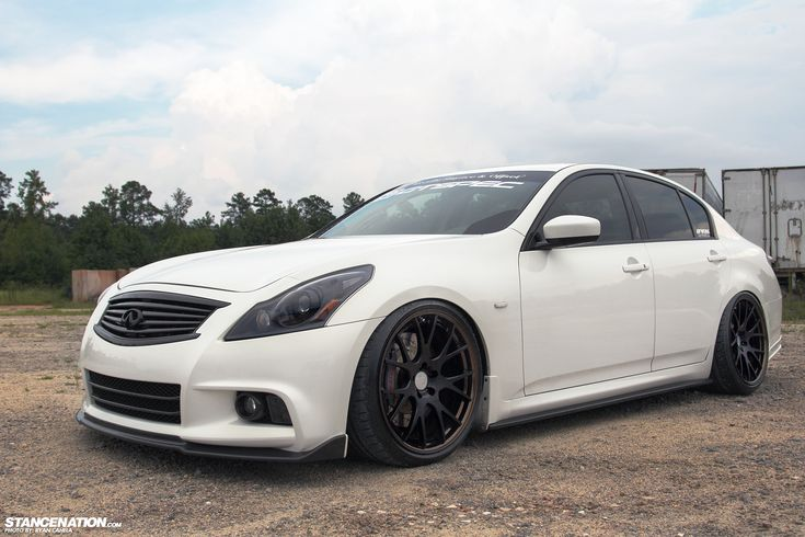 Meet Layla // Christopher's 600+HP Infiniti G37 Sedan. | Stance:Nation - Form > Function