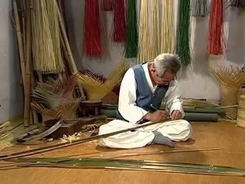 Плетение из бамбука своими руками.Поделки из бамбука.Мебель из бамбука своими руками.mp4 - YouTube