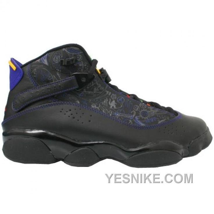finest selection 4f728 23117 322992 061 air jordan 6 rings black aqua purple http