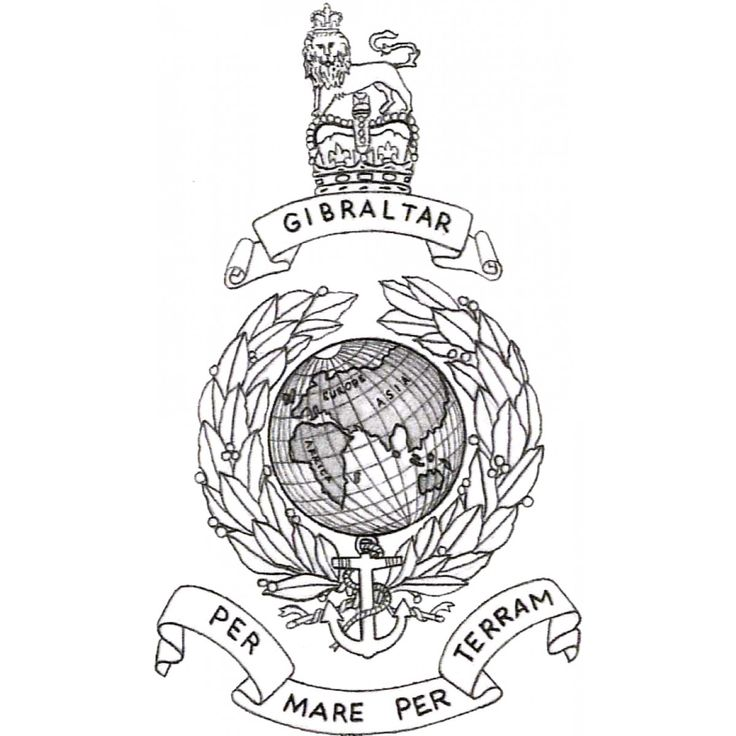 globe black and white royal marines search