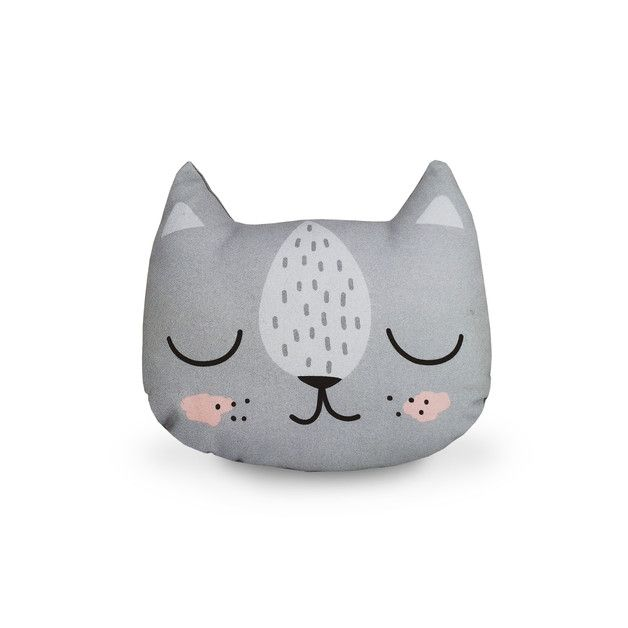 Handmade Kitty Pillow - designed and made in Germany
