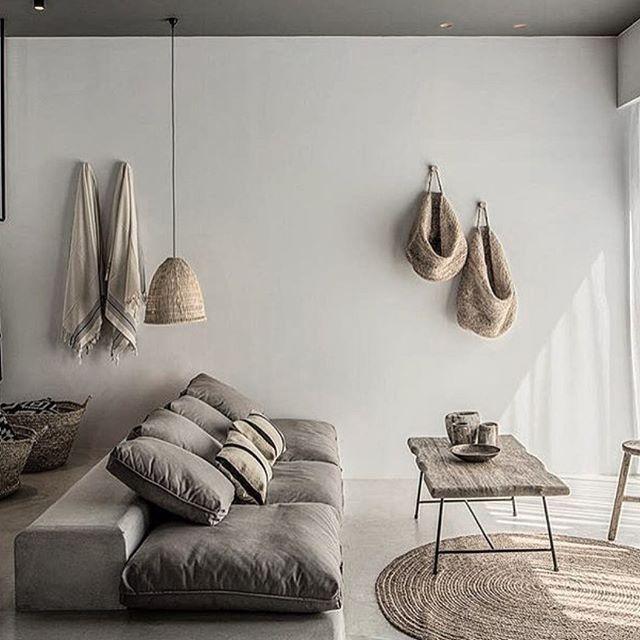 Decoración rústica, minimalista y con encanto.