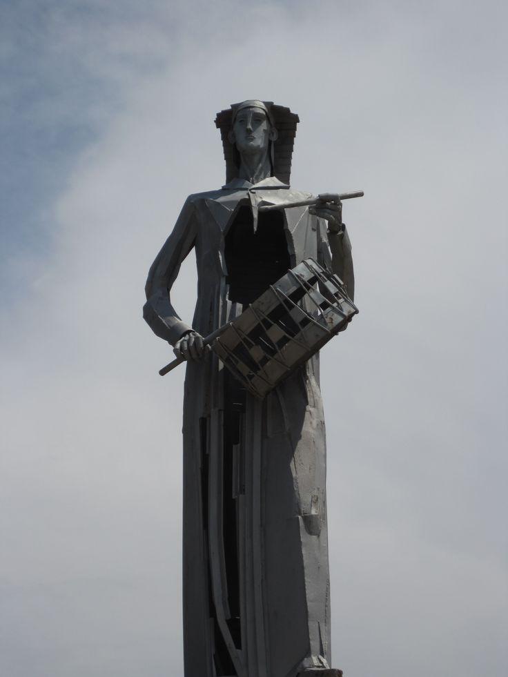 Monumento al Tambor. Alcañiz.  De Jose Gonzalvo Vives