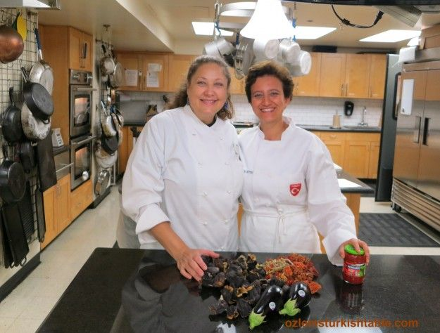 CM Chef Cindy and others kindly helped feed 40 Turkish food lovers at my Turkish cooking class at CM Cooking School, Austin - Texas