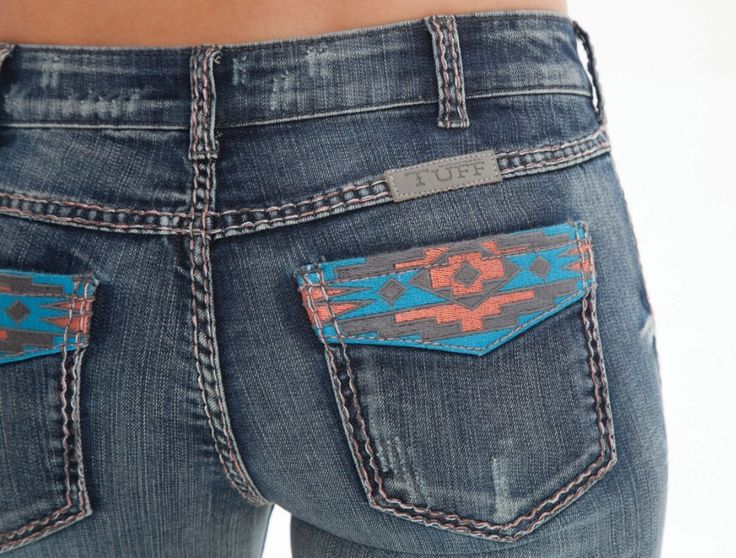 Cowgirl Tuff Jeans - Autumn Breeze
