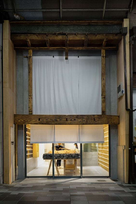 Bake Cheese Tart Store Kyoto is a minimal space located in Kyoto, Japan, designed by Yusuke Seki. (12)