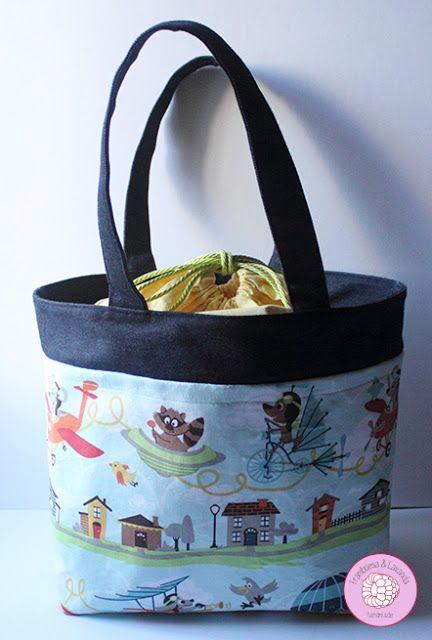 #bolsa #personalizada #handmade #infantil #niños #costura