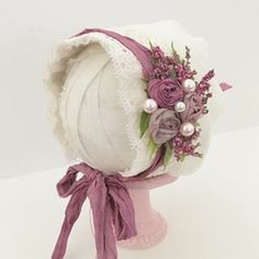 Image of Suzy Newborn Bonnet