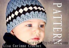 Crochet Baby Hats etsy crochet baby boy hats - Google Search...