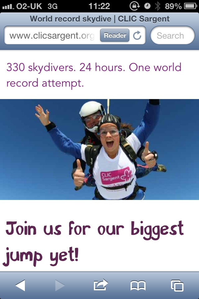 330 participants, 24 hours, 1 world record breaking attempt  #charity #sponsor #skydive #uk #england #clicsargeant