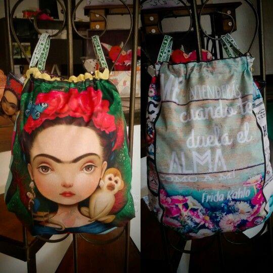 Tula Frida Personaliza tu tula con RIOS URBANOS. whatsapp +57 310 443 6093 🏠clle 4ta #7-77 Salamina Caldas Colombia