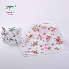 3 шт. высокое качество 100% хлопок печатных полотенце для лица обычный мягкий полотенца для взрослых цветочные красоты маленькое полотенце для рук комплект бесплатная доставка(China (Mainland))
