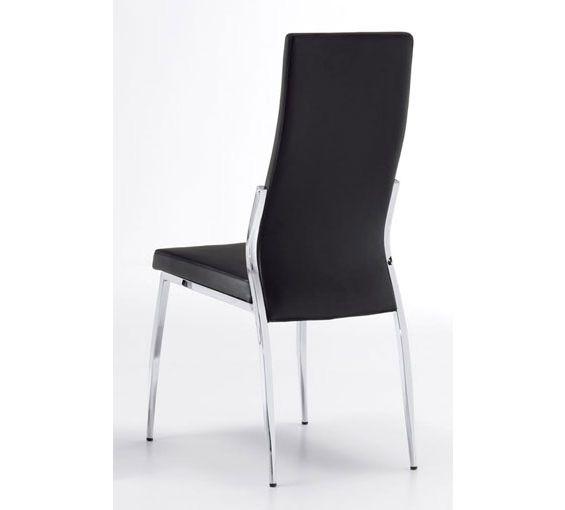 M s de 25 ideas incre bles sobre sillas de comedor negro for Sillas negras tapizadas